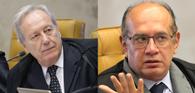 Gilmar Mendes e Lewandowski trocam acusações durante sessão do STF