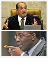 Desentendimento entre Mendes e Joaquim Barbosa suspende sessão plenária do STF de hoje