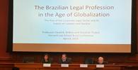 """""""Mais do que as leis e estruturas processuais é preciso mudar a cultura do litígio"""", afirma Toffoli em Harvard"""